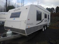 2008 Opalite Caravan S/N 1696
