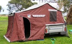 2011 Johnnoand39s Camper Trailer SN 1654