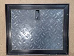Checkerplate Access Door