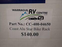 Coast Aluminium Star Bike Rack