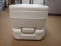 Fiamma Bi-Pot Portable Toilet