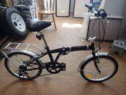 Folding Bike - Black