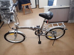 Folding Bike - Silver
