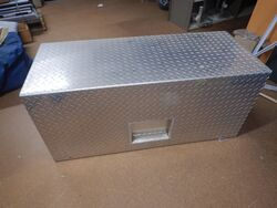 Tool Box with Slide Out Tray